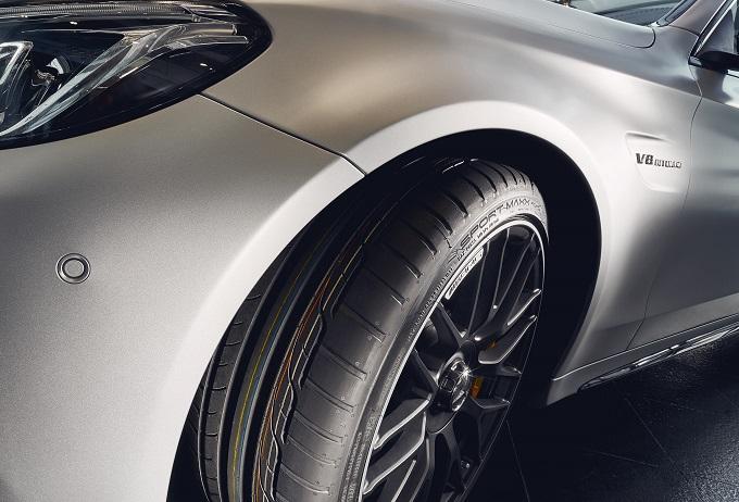 Mercedes-AMG C63 sceglie gli pneumatici Dunlop Sport Maxx RT