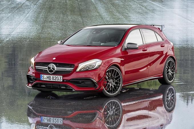Mercedes A45 AMG, la prossima generazione monterà un motore 4 cilindri da 400 CV