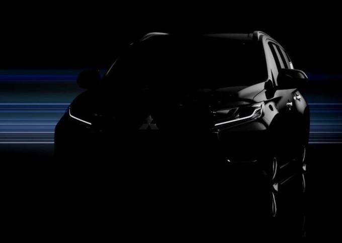 Mitsubishi Pajero Sport MY 2016: primo TEASER della nuova generazione
