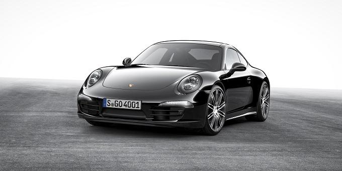Porsche 911 Carrera Black Edition, tutto inizia da una goccia d'inchiostro [VIDEO]