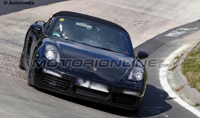 Porsche Boxster e Cayman MY 2016: i motori turbo delle versioni GTS svilupperebbero 370 cavalli