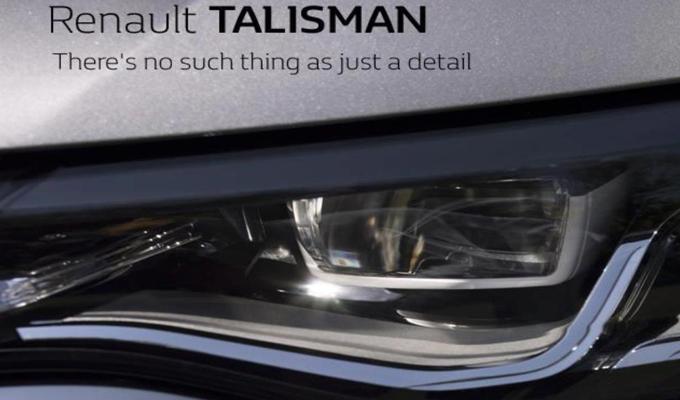 Renault TALISMAN: un nuovo dettaglio della prossima berlina