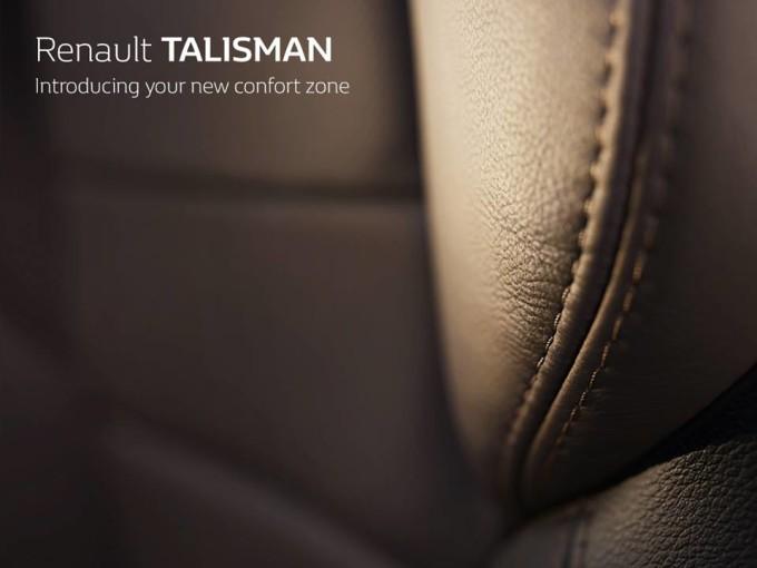 Renault Talisman: zoom sui rivestimenti degli interni nel nuovo TEASER
