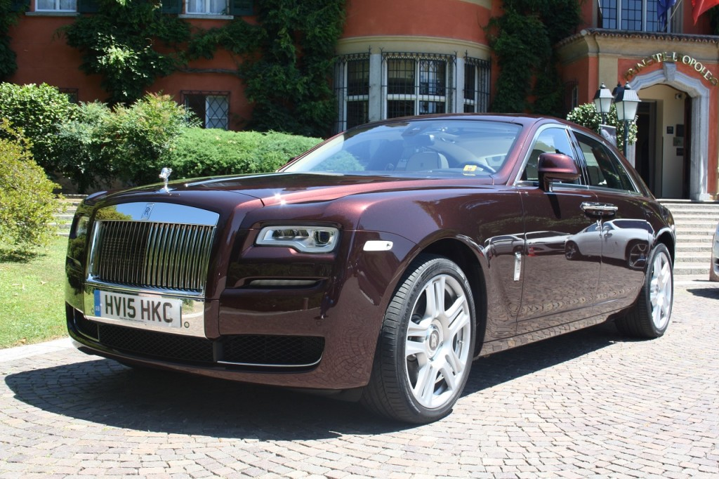 Rolls Royce Ghost II PRIMO CONTATTO