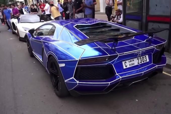 Invasione di supercar sulle strade di Londra [VIDEO]