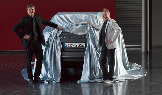 Borgward, primo teaser del SUV in arrivo a Francoforte 2015