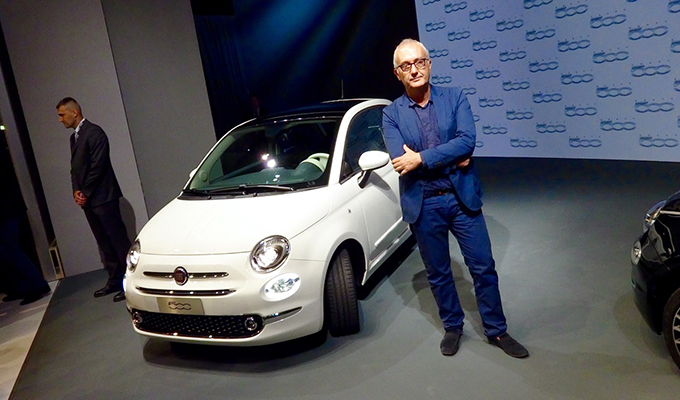 Nuova Fiat 500, intervista speciale a chi l'ha creata [VIDEO INTERVISTA]