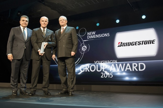 Bridgestone vince il Volkswagen Group Award 2015