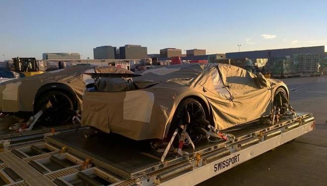 Bugatti Chiron Concept - foto spia (2)