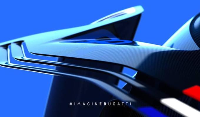 Bugatti Vision Gran Turismo concept: diffuso un nuovo teaser