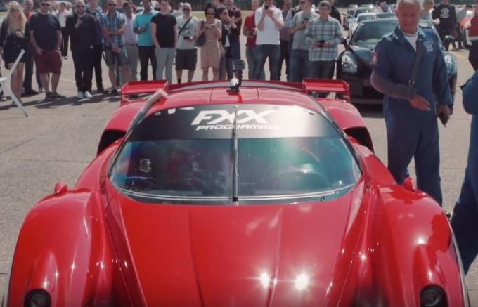 Ferrari FXX capace di lasciare a bocca aperta anche Guy Martin [VIDEO]