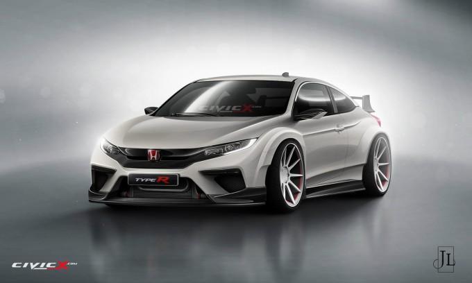 Honda Civic Type R: un render ci proietta verso la nuova generazione