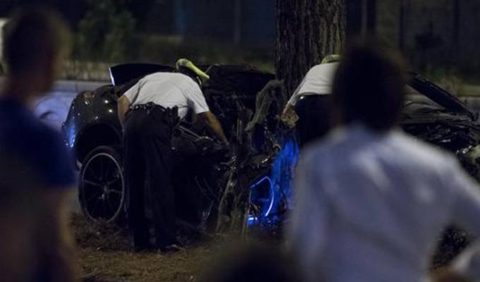 Vettura contro un albero in via Colombo a Roma, muore l'imprenditore Claudio Salini