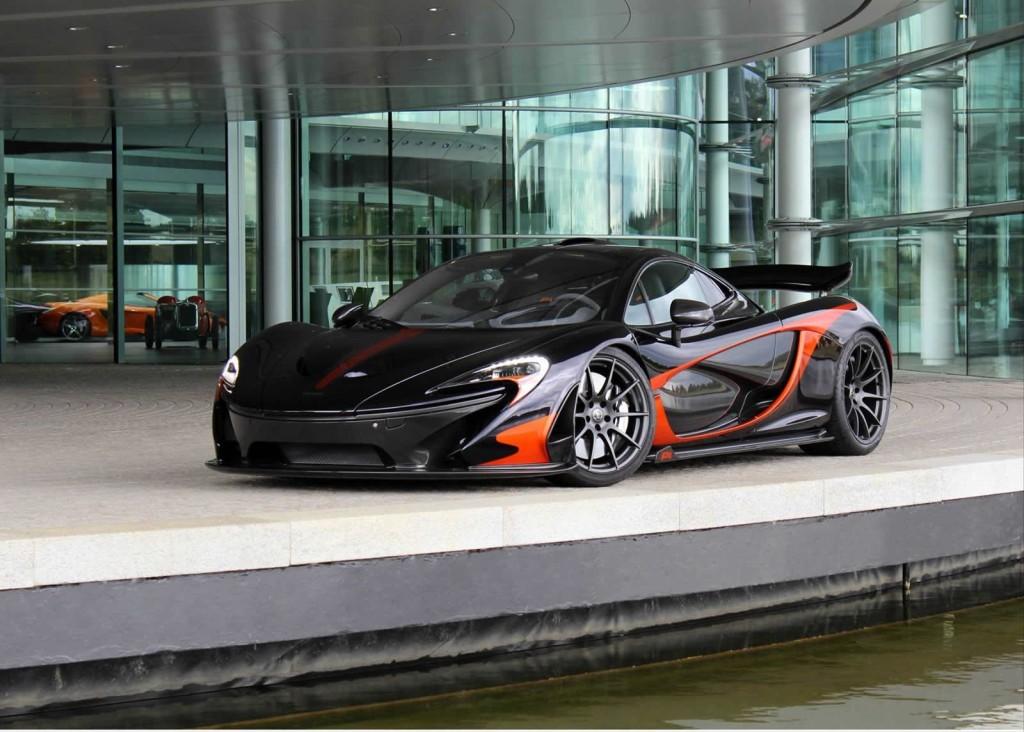 McLaren P1, nuovo esemplare personalizzato MSO