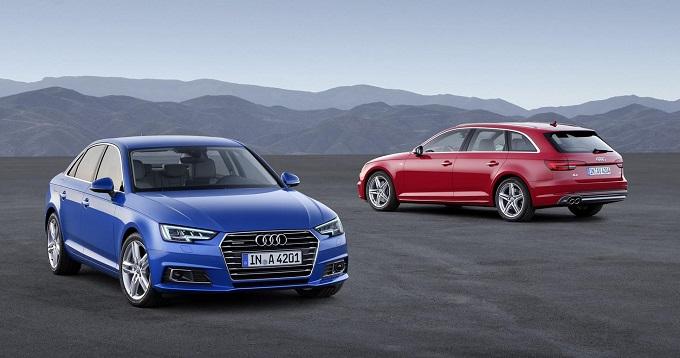 Nuova Audi A4 e A4 Avant, via agli ordini in Germania