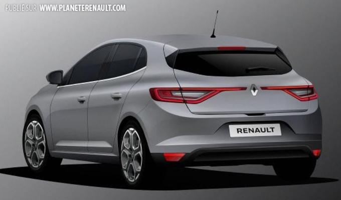 Renault Mégane MY 2016: il nuovo modello sarà presentato al Salone di Francoforte