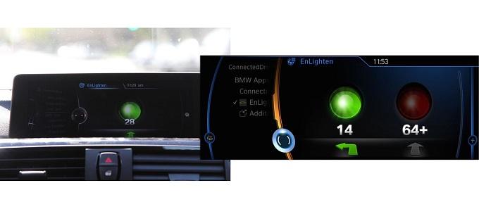 BMW, l'EnLigthen ci permetterà di capire quanto attendere al semaforo