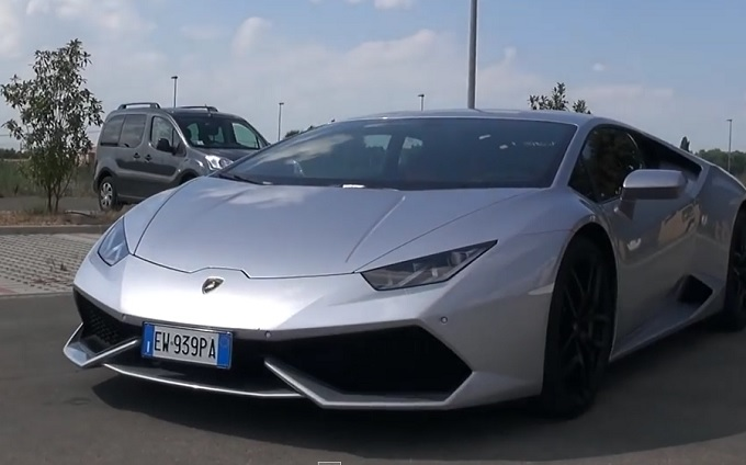 Lamborghini Huracan LP610-4, il modo più veloce di arrivare a 200 km/h [VIDEO]
