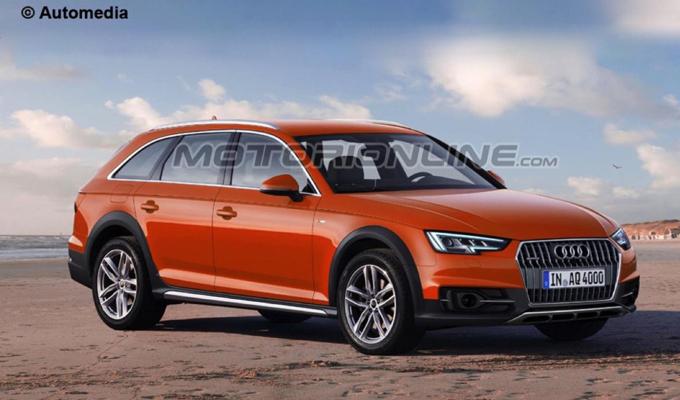 Audi A4 Allroad MY 2016: come potrebbe essere la prossima versione [RENDERING]