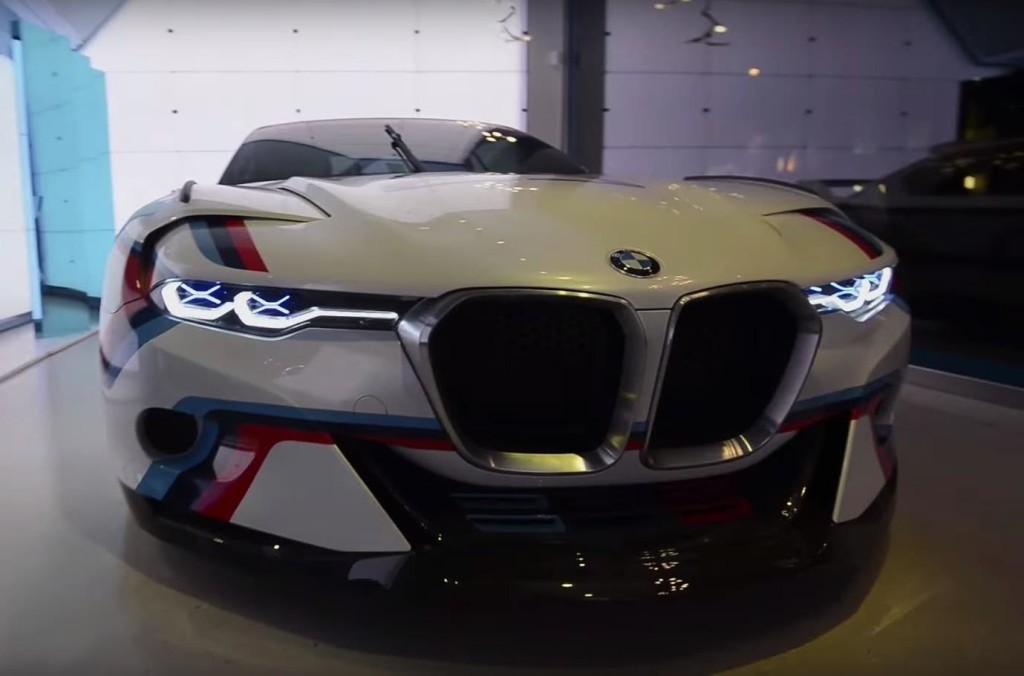 BMW 3.0 CSL Hommage R ci prende per le orecchie con un sound avvolgente [VIDEO]