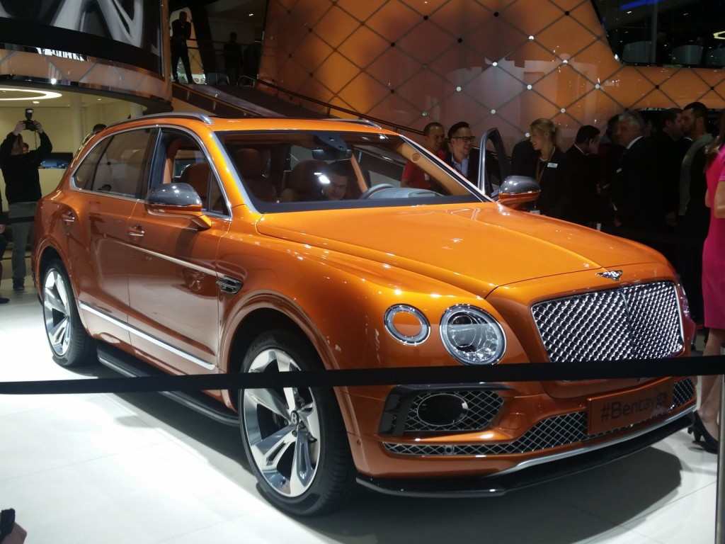 Bentley Bentayga - Salone di Francoforte 2015