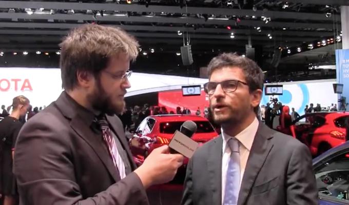 """PSA al Salone di Francoforte, Eugenio Franzetti: """"Il futuro è roseo"""" [INTERVISTA]"""