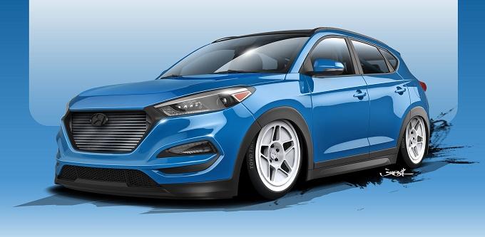 """Hyundai Tucson, al SEMA debutterà la """"Brute Ute"""""""