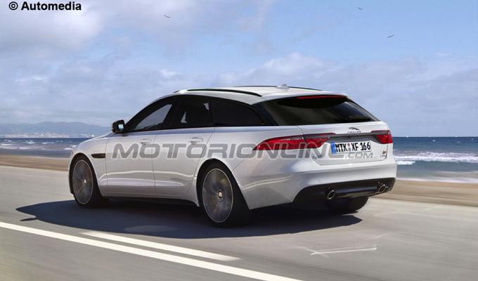 Jaguar XF Sportbrake MY 2016: sarà questo il possibile design della wagon? [RENDERING]