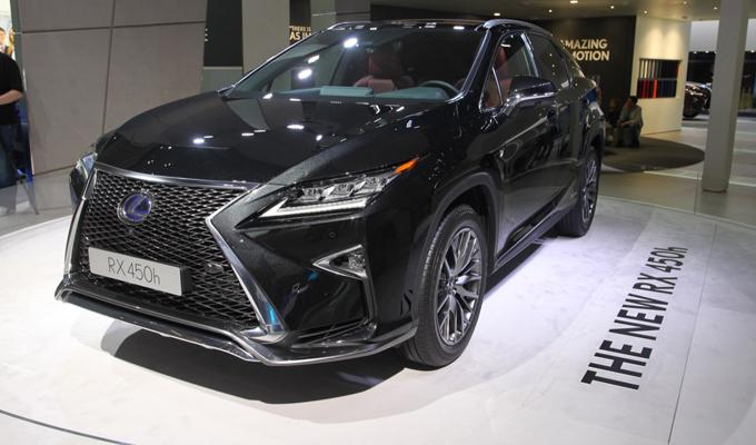 Lexus RX - Salone di Francoforte 2015