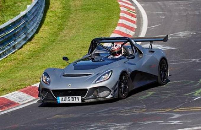 """Lotus 3-Eleven ha chiuso con un tempo di 7′:06"""" il giro del Nürburgring"""