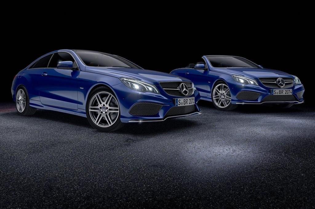 Mercedes Classe E Coupé e Cabrio, ancora più esclusive con due nuovi pacchetti: V8 Edition e Sport Edition