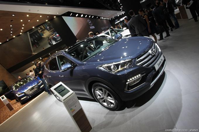 Hyundai Santa Fe - Salone di Francoforte 2015