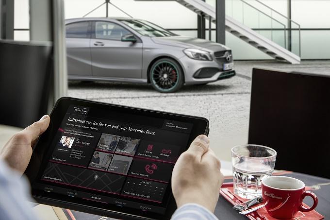 Nuova Mercedes Classe A, lo smartphone integrato apre la strada all'interattività