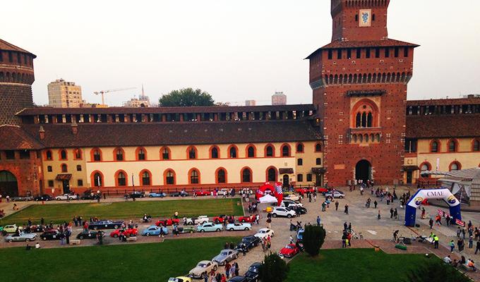 Trofeo Milano 2015: domani, 17 ottobre, auto storiche protagoniste al Castello Sforzesco