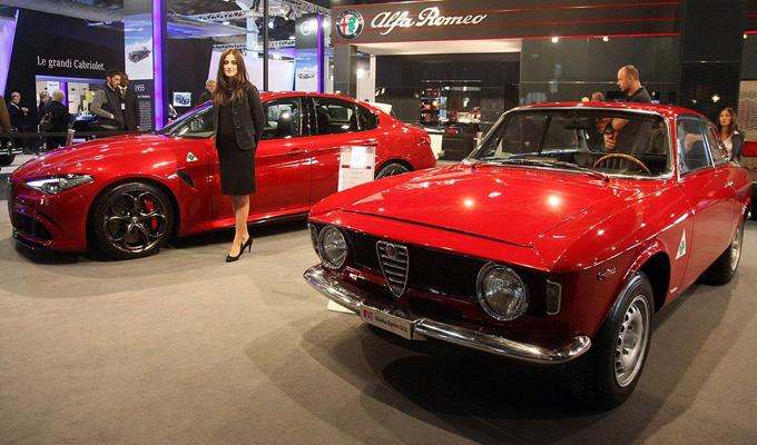 Alfa Romeo: esempi del passato e dell'imminente futuro riuniti a Padova [VIDEO]