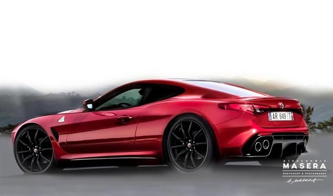 Alfa Romeo: un'idea della futura coupé o di un'ipotetica 6C? [RENDERING]