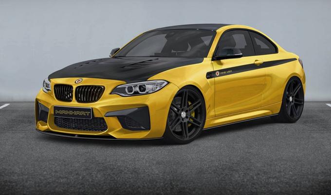 BMW M2 Coupé by MANHART PERFORMANCE: livrea distintiva e cuore da atleta [RENDERING]