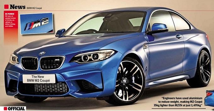 BMW M2, la prima foto ufficiale leaked sfugge online