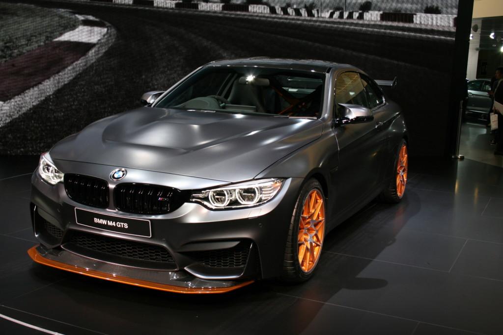 BMW M4 GTS al Tokyo Motor Show, seduzione totale che invade l'Oriente