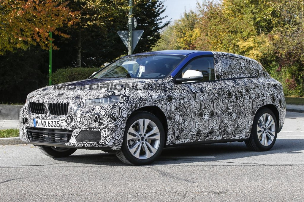BMW X2 - Foto spia 12-10-2015