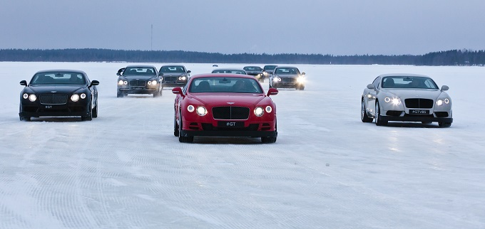 Bentley Bentayga - Power on Ice 2016