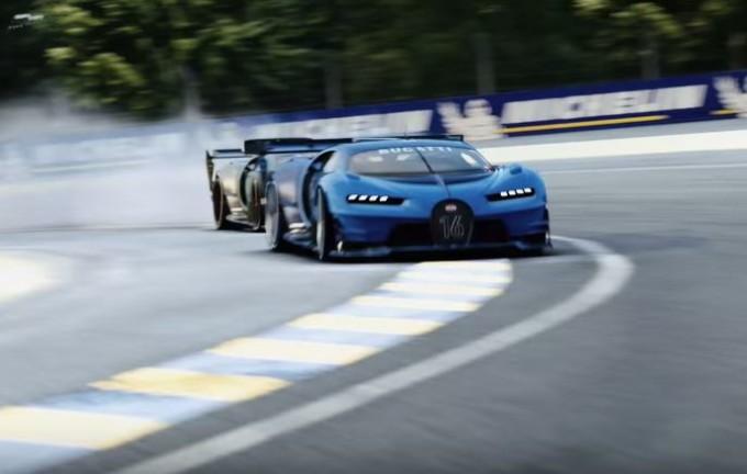 Bugatti Vision Gran Turismo: così nasce la supercar da sogno [VIDEO]
