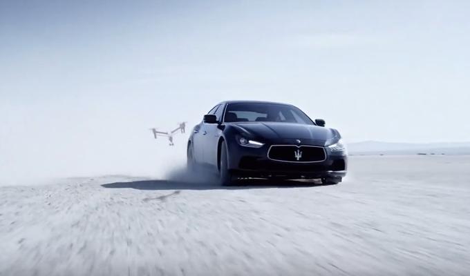 Maserati Ghibli S Q4: aggrappati al suolo con eleganza [VIDEO]