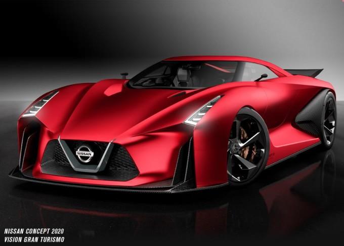 Nissan 2020 Vision Gran Turismo, ecco la versione aggiornata per il Salone di Tokyo 2015