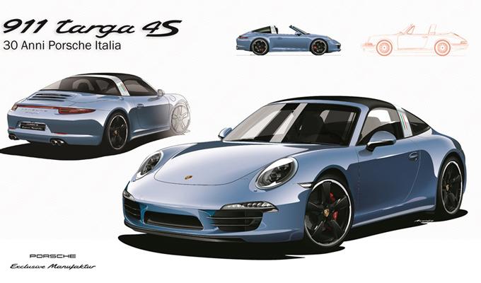 Porsche Italia celebra i suoi 30 anni alla Fiera Auto e Moto d'Epoca di Padova