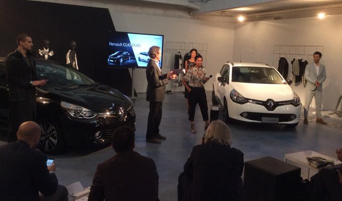 Renault Clio Duel - Evento Capsule Collection a Milano 01-10-2015