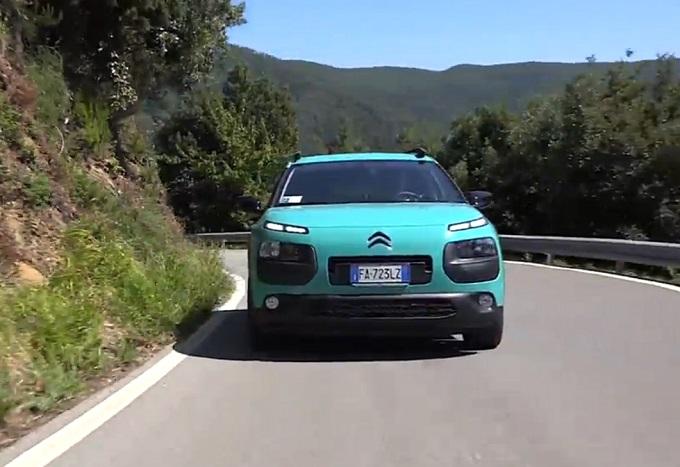 Citroën C4 Cactus, in un VIDEO tutto il suo viaggio per le Cinque Terre