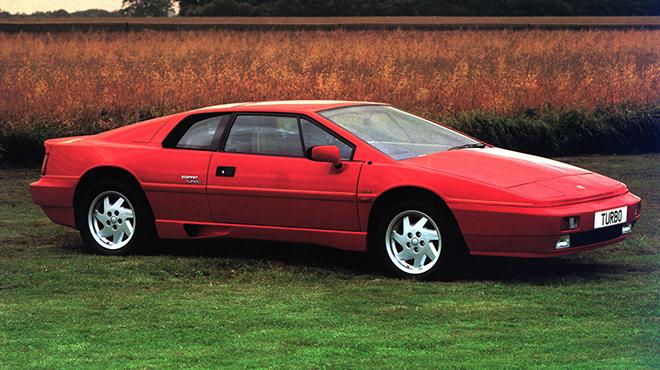 La Lotus Esprit Turbo del 1980