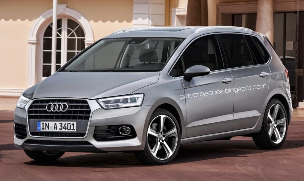 Audi A3 Spaceback: il RENDERING che regala un nuovo minivan alla Casa di Ingolstadt