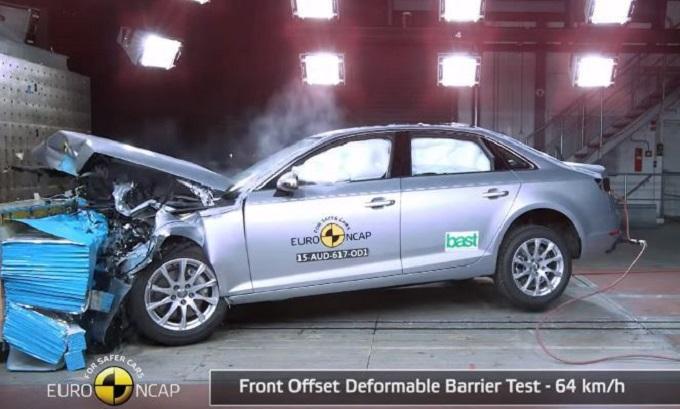 Nuova Audi A4 ottiene le cinque stelle Euro NCAP [VIDEO]